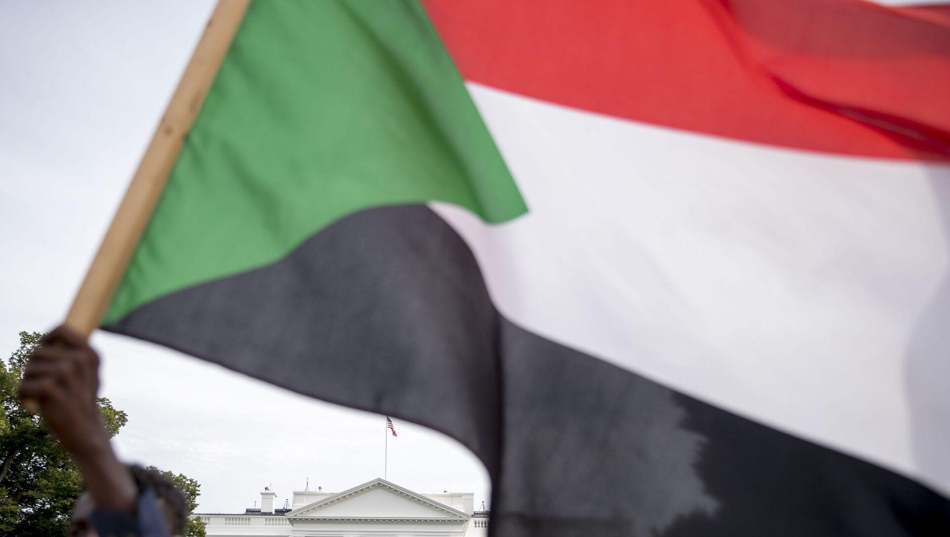 Bandera de Sudán - Sputnik Mundo, 1920, 08.02.2021
