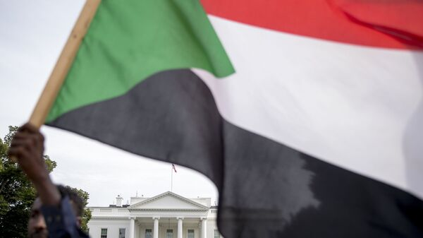 Bandera de Sudán - Sputnik Mundo