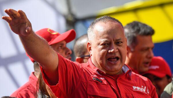 Diosdado Cabello, candidato a la Asamblea Nacional de Venezuela - Sputnik Mundo