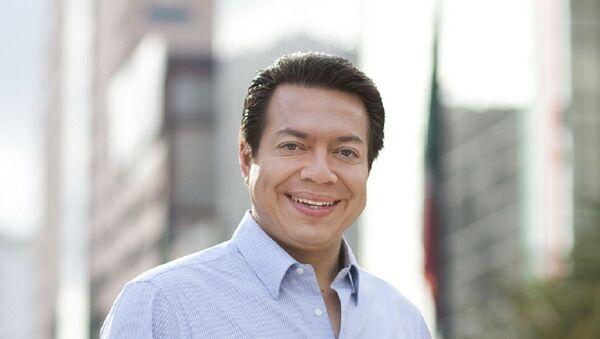Mario Delgado, diputado de Morena - Sputnik Mundo