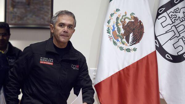 Miguel Ángel Mancera, exjefe del gobierno de la Ciudad de México (2012-2018) - Sputnik Mundo
