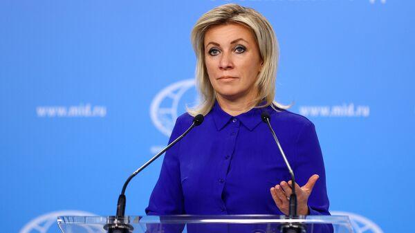 María Zajárova, portavoz del Ministerio de Esteriores de Rusia - Sputnik Mundo