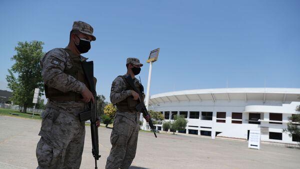 Fuerzas Armadas vigilan el referéndum chileno 2020 - Sputnik Mundo