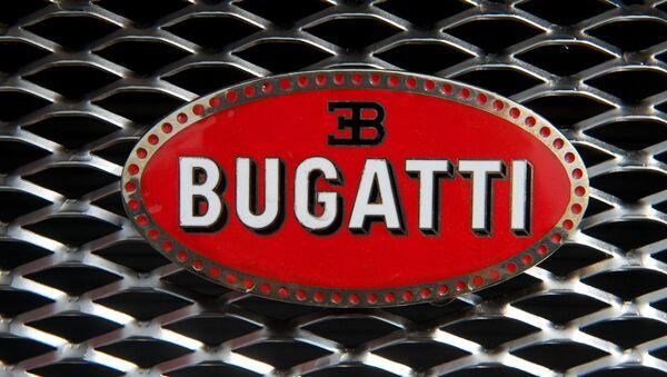 El logo de Bugatti - Sputnik Mundo