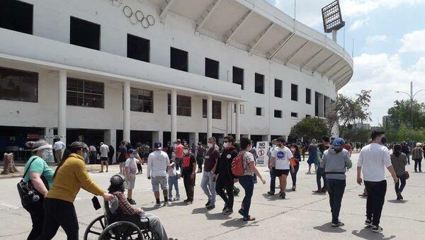 Estadio Nacional, excentro de detención y lugar de votación más grande de Chile - Sputnik Mundo