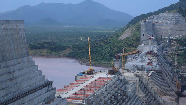Construcción de la presa en Etiopía  - Sputnik Mundo