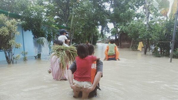 Tifón en Filipinas - Sputnik Mundo