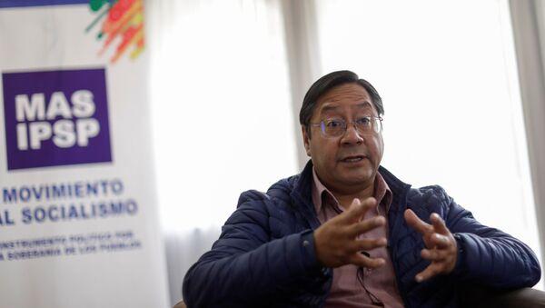 Luis Arce, el presidente electo de Bolivia - Sputnik Mundo