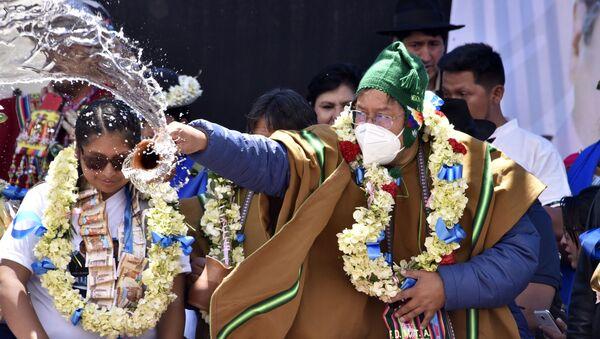 El presidente electo de Bolivia, Luis Arce - Sputnik Mundo