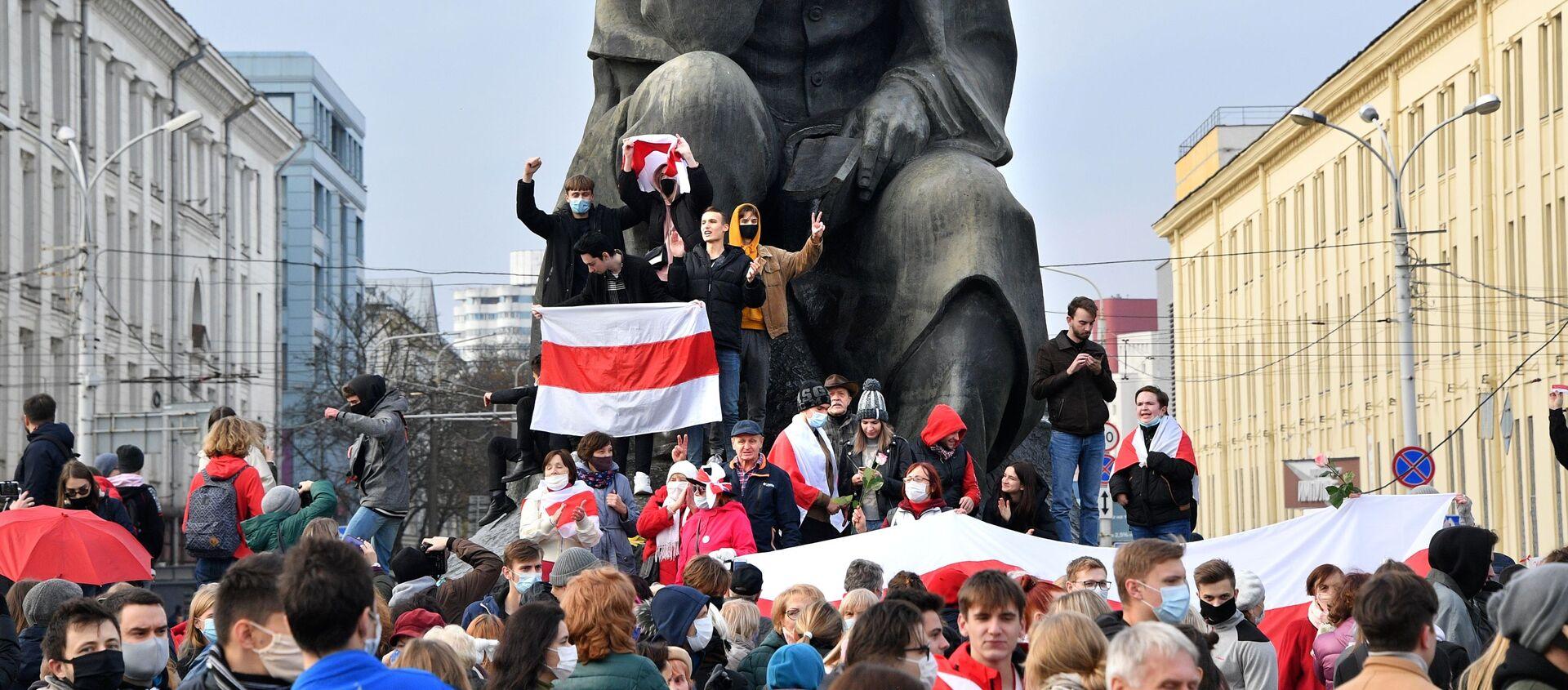 Protestas en Bielorrusia - Sputnik Mundo, 1920, 26.10.2020