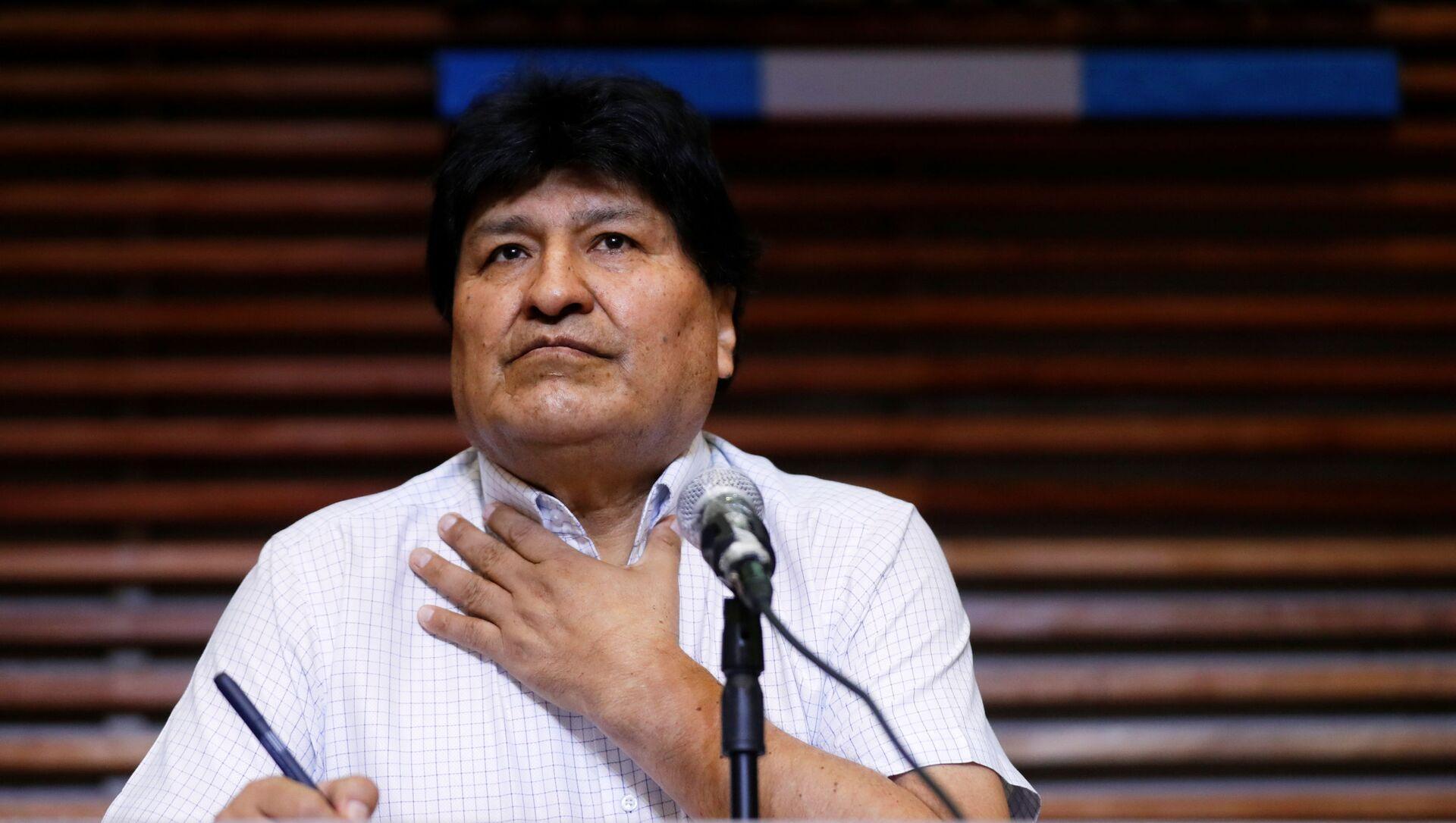 Evo Morales, expresidente de Bolivia - Sputnik Mundo, 1920, 26.10.2020