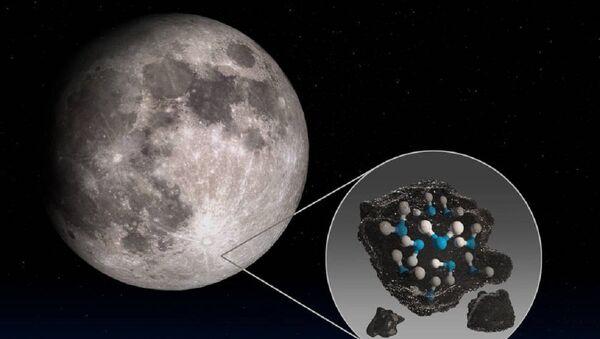 El observatorio de la NASA descubre agua en la superficie soleada de la Luna - Sputnik Mundo