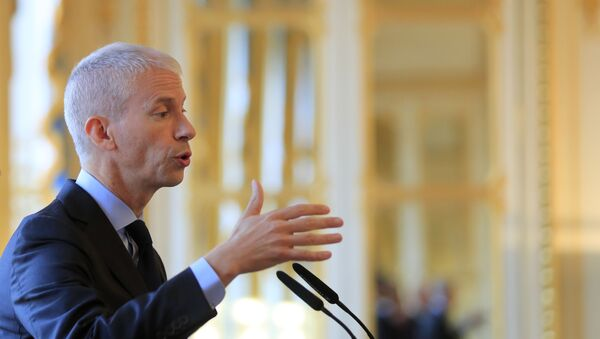 Franck Riester, ministro del Comercio Exterior de Francia - Sputnik Mundo