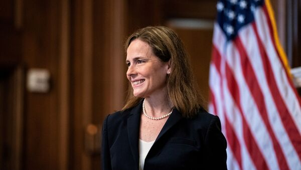 Amy Coney Barrett, jueza federal estadounidense - Sputnik Mundo