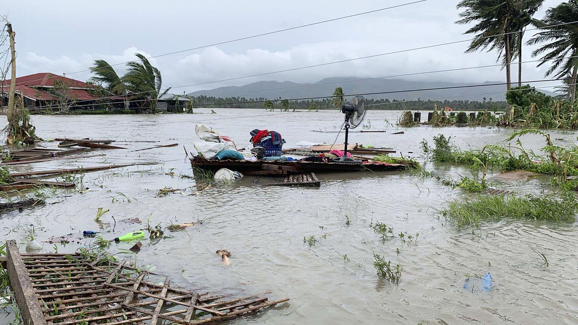 Consecuencias del tifón Quinta en Filipinas, 2020 - Sputnik Mundo, 1920, 24.07.2021