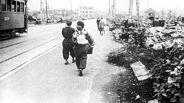 Tokio tras el bombardeo de 1945 - Sputnik Mundo