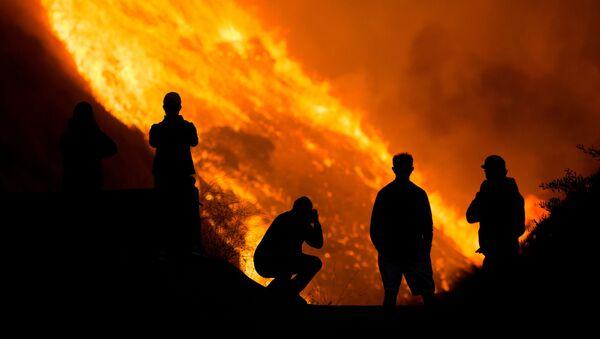 Incendios en el Sur de California - Sputnik Mundo