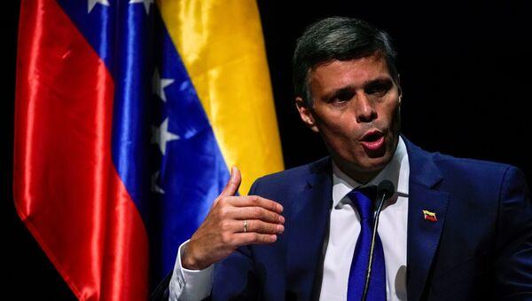 Leopoldo López, el opositor venezolano - Sputnik Mundo