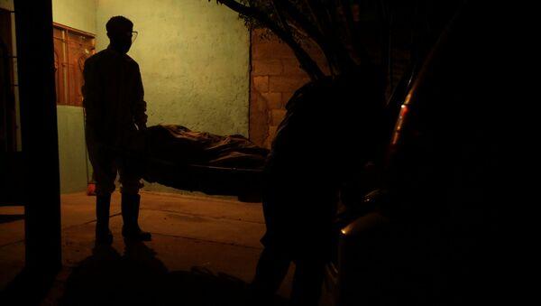Un fallecido por las enfermedades provocadas por el nuevo coronavirus, México - Sputnik Mundo