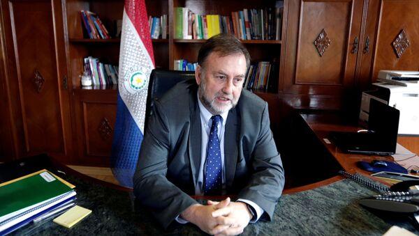 Benigno López, ministro de Hacienda de Paraguay - Sputnik Mundo