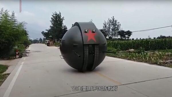 Una reproducción china del tanque esférico soviético - Sputnik Mundo