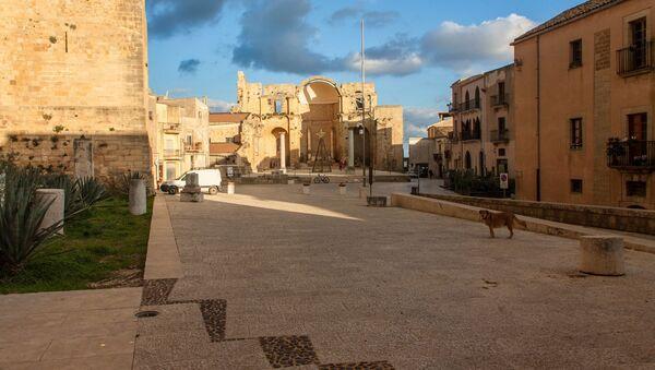 Piazza Alicia, Salemi - Sputnik Mundo