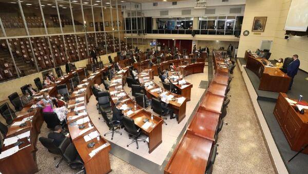 Pleno de la Asamblea Nacional de Panamá  - Sputnik Mundo