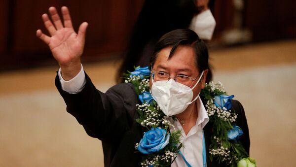 Luis Arce, presidente electo de Bolivia - Sputnik Mundo