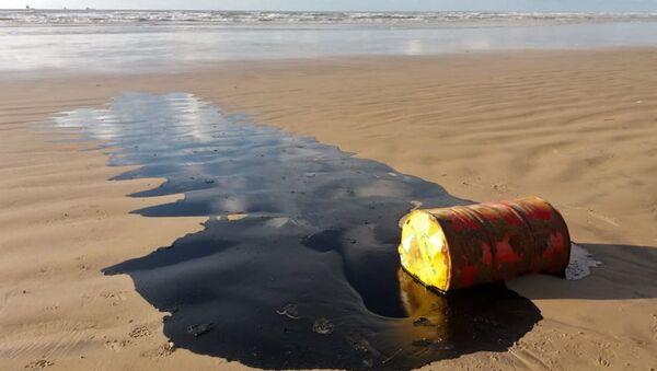 Barril de petróleo  - Sputnik Mundo