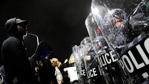 Disturbios en Filadelfia  - Sputnik Mundo