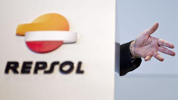 Presidente de Repsol Antonio Brufau durante una conferencia de prensa en Madrid. Mayo 2012 - Sputnik Mundo
