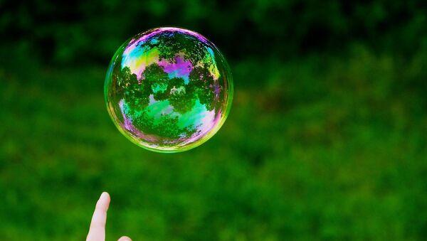 Una burbuja (imagen referencial) - Sputnik Mundo