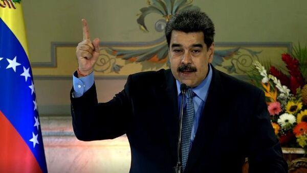 Maduro critica la valentía de Leopoldo López por escapar y dejar a Guaidó en Venezuela - Sputnik Mundo