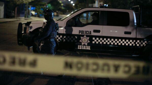 Policía mexicana (archivo) - Sputnik Mundo