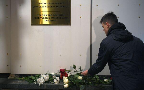 Homenaje a las víctimas del ataque en Niza - Sputnik Mundo