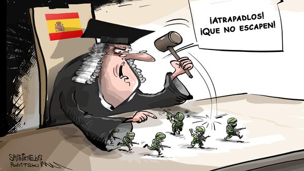 ¿Soldados rusos para Cataluña?: La Embajada rusa en España ridiculiza una información falsa - Sputnik Mundo