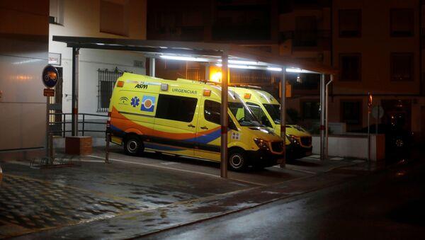 Ambulancias en España - Sputnik Mundo
