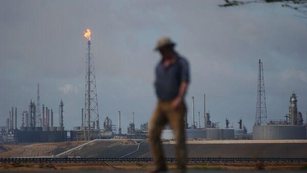 Refinería petrolera de Amuay, Venezuela - Sputnik Mundo
