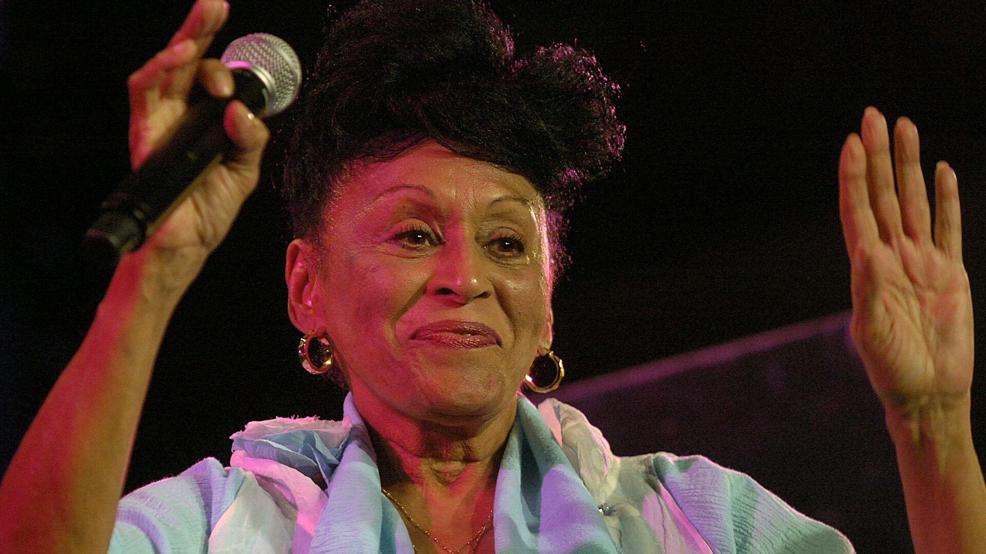 Omara Portuondo, cantante cubana - Sputnik Mundo, 1920, 05.05.2021