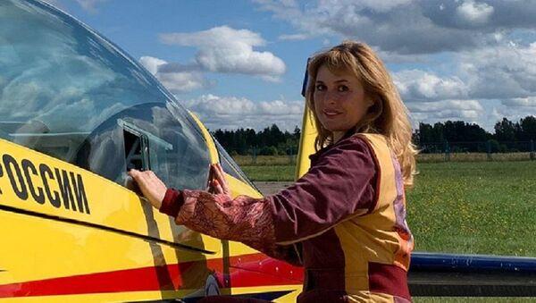 Svetlana Kapanina, piloto acrobático rusa - Sputnik Mundo