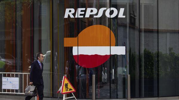 Logo de Repsol - Sputnik Mundo