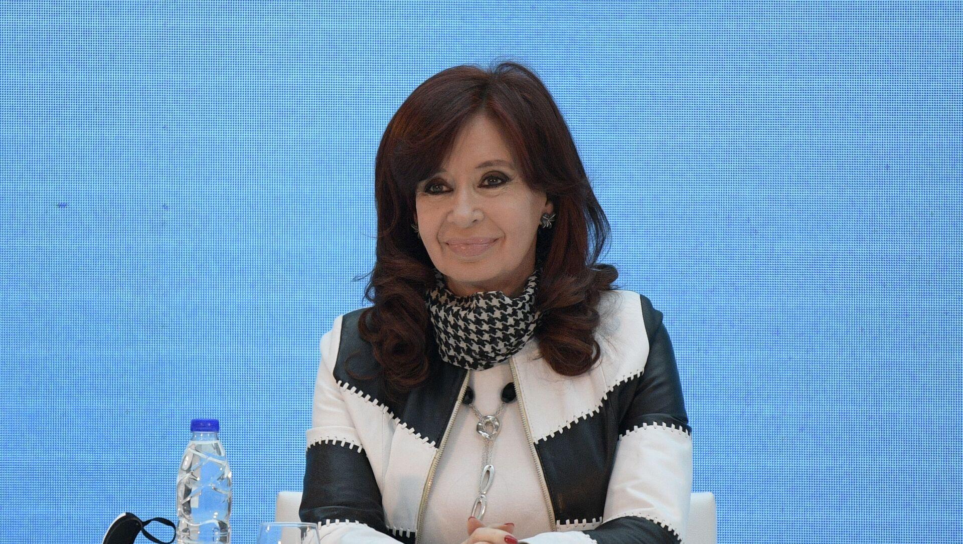Cristina Fernández de Kirchner, vicepresidenta de Argentina - Sputnik Mundo, 1920, 24.11.2020