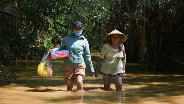 Inundaciones en Vietnam - Sputnik Mundo
