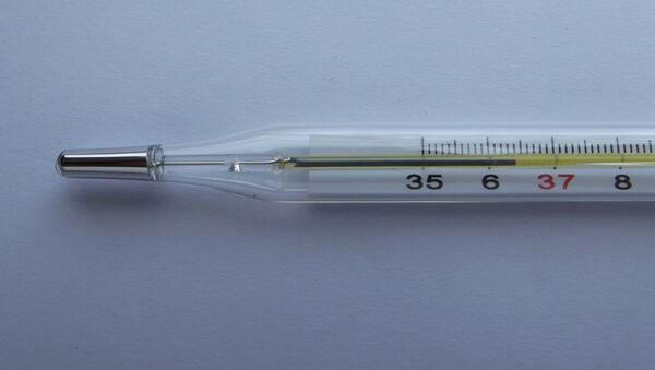 Un termometro - Sputnik Mundo