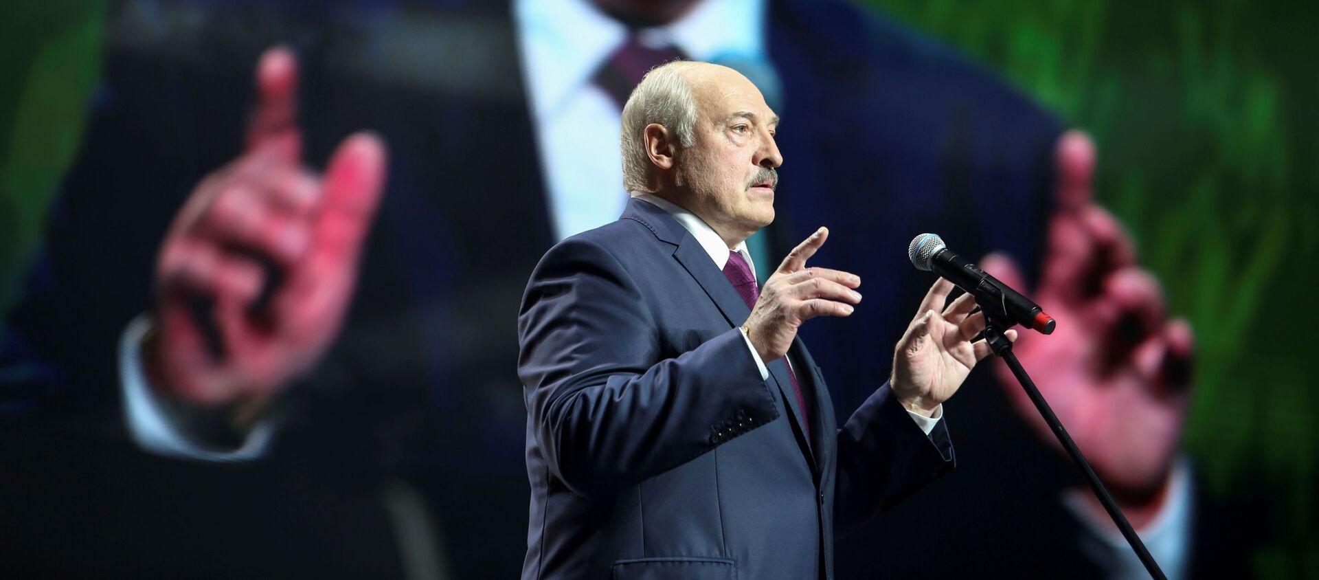 Alexandr Lukashenko, presidente de Bielorrusia  - Sputnik Mundo, 1920, 06.11.2020