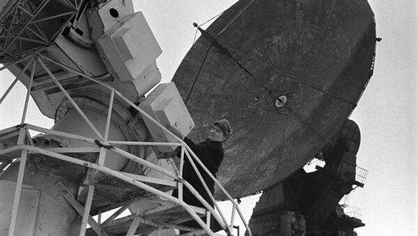 La estación de radioastronomía soviética Zimenki - Sputnik Mundo