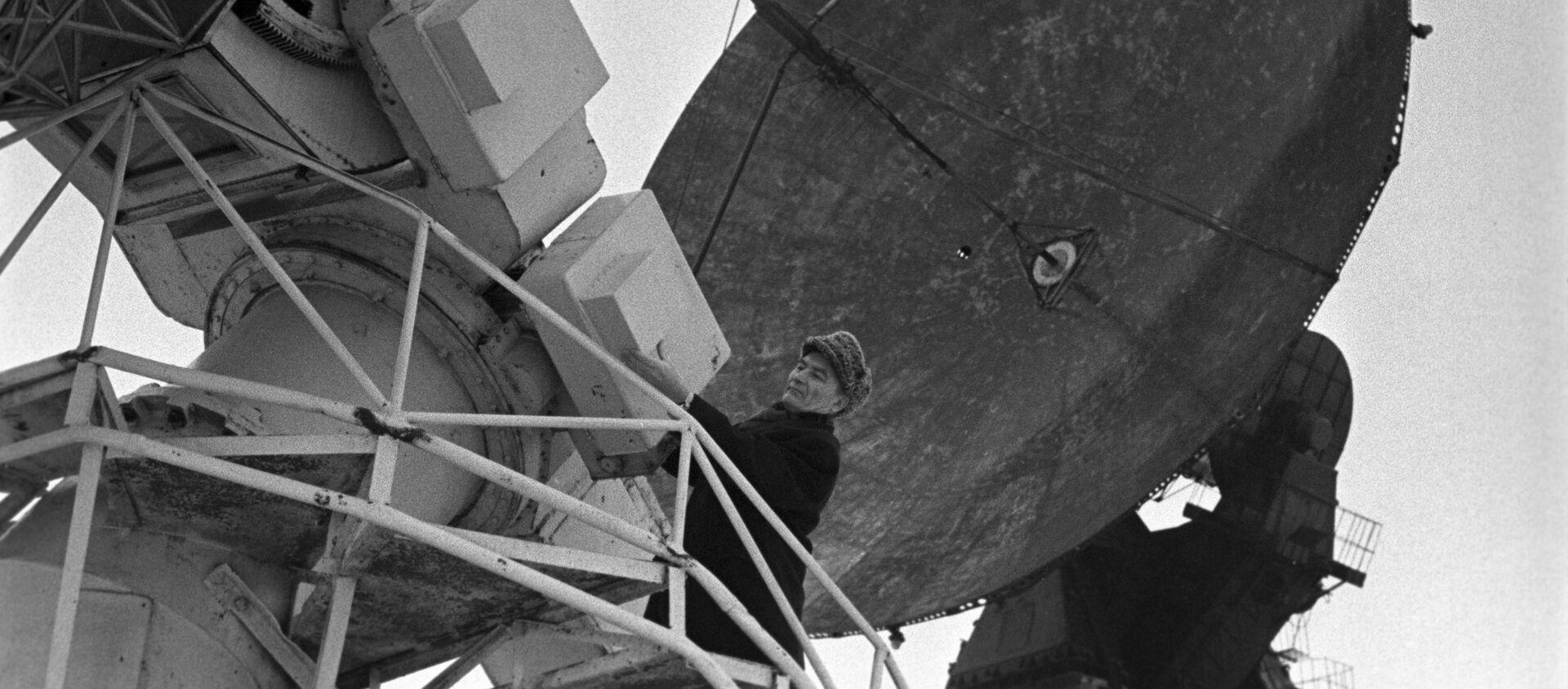 La estación de radioastronomía soviética Zimenki - Sputnik Mundo, 1920, 30.10.2020