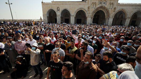 Musulmanes protestan en Jerusalén contra Macron - Sputnik Mundo