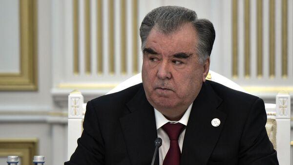 Emomalí Rajmón, el presidente de Tayikistán - Sputnik Mundo