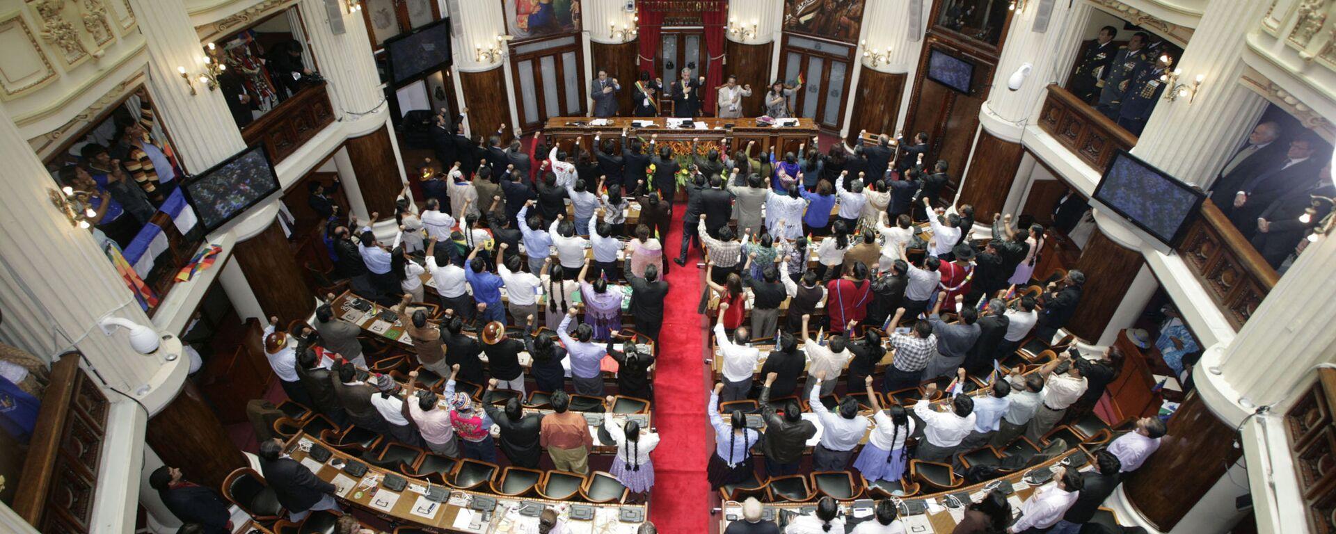 La Asamblea Legislativa de Bolivia - Sputnik Mundo, 1920, 09.06.2021